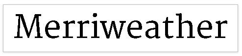 tipografía font- serif- bubok