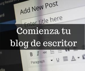blog de escritor-Bubok