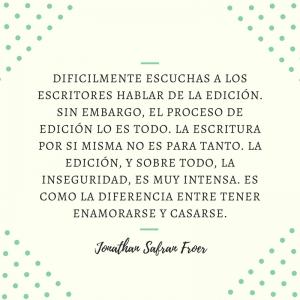 Frases: Jonathan Safran Foer