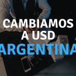 Cambiamos a USD a partir del 1 de agosto en Argentina