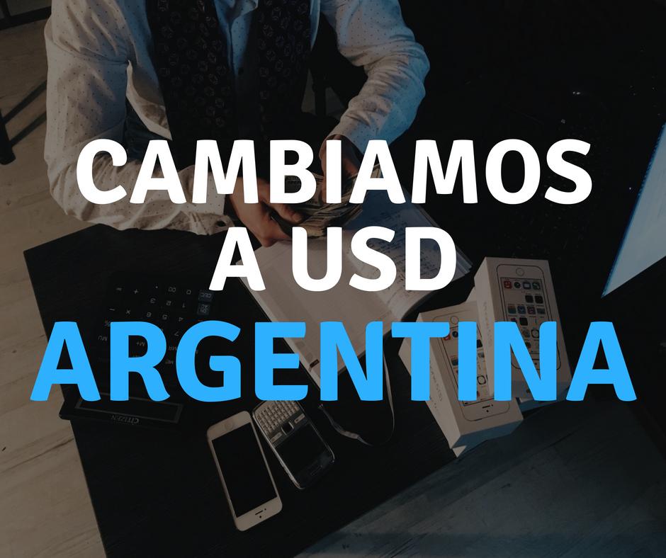 Cambiamos divisa en Argentina a partir del 1 de agosto