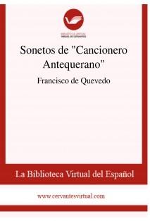 """Sonetos de """"Cancionero Antequerano"""""""
