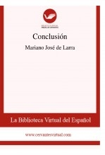 Libro Conclusión, autor Biblioteca Virtual Miguel de Cervantes