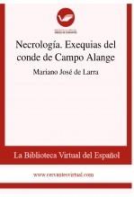 Libro Necrología. Exequias del conde de Campo Alange, autor Biblioteca Virtual Miguel de Cervantes
