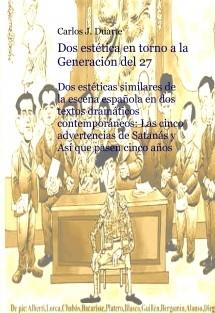 """Dos estética en torno a la """"Generación del 27"""""""