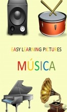 Libro EASY LEARNING PICTURES. MÚSICA., autor pixels
