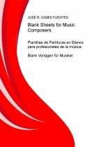 Libro Blank Sheets for Music Composers, autor pixels