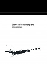 Libro Blank notebook for piano composers., autor pixels