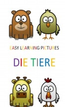 Libro Easy Learning Pictures. Die Tiere., autor pixels