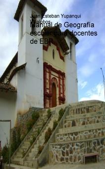 Manual de Geografía escolar para docentes de EBR.