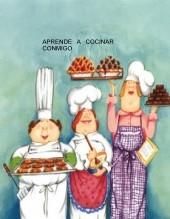 Libro Aprende a cocinar conmigo, autor Rosarito