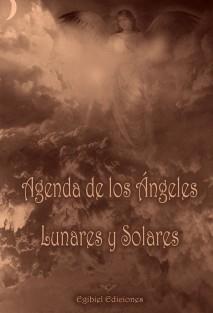 Agenda de lo Ángeles Lunares y Solares (versión B/N)
