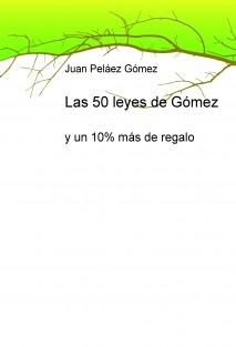 Las 50 leyes de Gómez