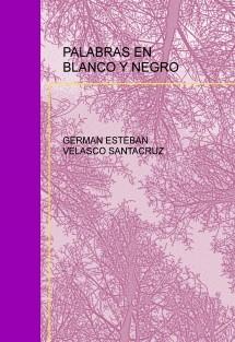 PALABRAS EN BLANCO Y NEGRO