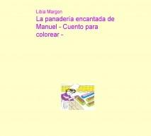 La panadería encantada de Manuel - Para colorear-