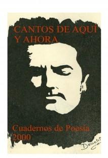 CANTOS DE AQUÍ Y AHORA (POESIA)