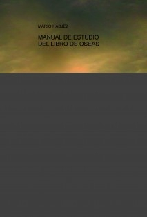 MANUAL DE ESTUDIO DEL LIBRO DE OSEAS
