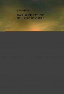 MANUAL DE ESTUDIO DEL LIBRO DE OSEAS