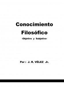 CONOCIMIIENTO FILOSÓFICO
