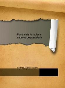 Manual de formulas y saberes de panaderia