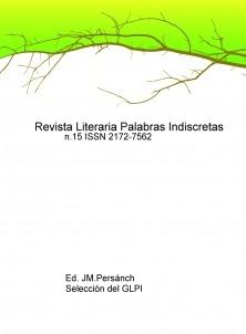 Revista Literaria Palabras Indiscretas n.15