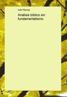 Análisis bíblico sin fundamentalismo