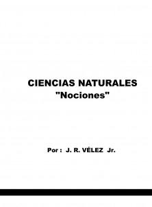 """CIENCIAS NATURALES """"NOCIONES"""""""