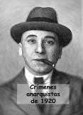 Crímenes anarquistas de 1920