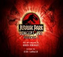 Jurassic Park Concept Art Volumen 1