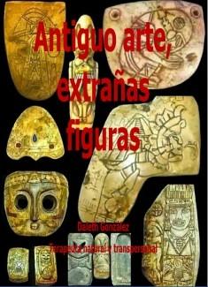 antiguo arte, extrañas figuras