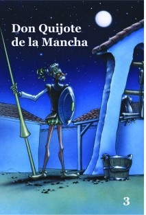Don Quijote de la Mancha - Volumen 3- Cómic basado en la serie de dibujos animados para TV