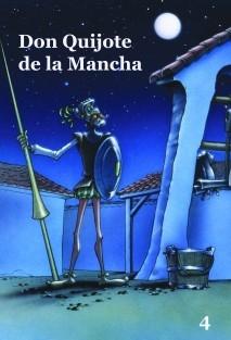 Don Quijote de la Mancha - Volumen 4- Cómic basado en la serie de dibujos animados para TV