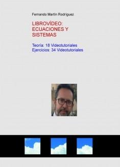 VIDEOLIBRO: INTRODUCCIÓN A LAS ECUACIONES Y SISTEMAS