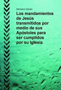 Los mandamientos de Jesús transmitidos por medio de sus Apóstoles para ser cumplidos por su Iglesia