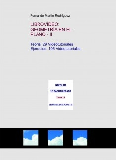 LIBROVÍDEO: GEOMETRÍA EN EL PLANO - II