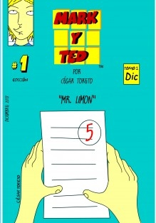 """Comic mark y ted """"Mr Limon"""