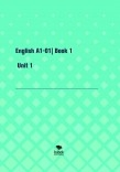 GENNIU EDITORIAL: English A1-01| Book 1- Unit 1