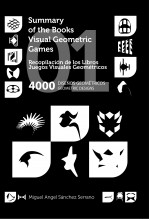 Recopilación de los Libros Juegos Visuales Geométricos 01. 4000 Diseños Geométricos. Collection of Geometric Visual Games Books 01. 4000 Geometric Designs