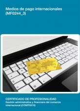 Libro MF0244_3 - Medios de pago internacionales, autor Editorial Elearning