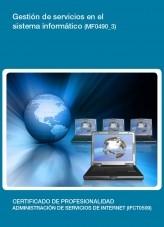 Libro MF0490_3 - Gestión de servicios en el sistema informático, autor Editorial Elearning