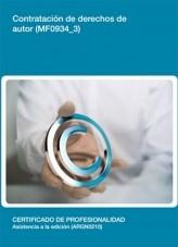 Libro MF0934_3 - Contratación de derechos de autor, autor Editorial Elearning