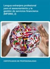 Libro MF0992_3 - Lengua extranjera profesional para el asesoramiento y la gestión de servicios financieros, autor Editorial Elearning