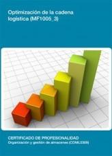 Libro MF1005_3 - Optimización de la cadena Logística, autor Editorial Elearning
