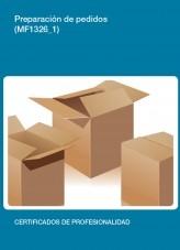 Libro MF1326_1 - Preparación de pedidos, autor Editorial Elearning