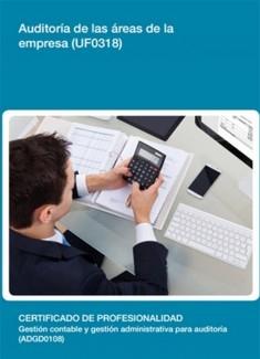 UF0318 - Auditoría de las áreas de la empresa