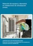 UF0904 - Selección de equipos y elementos en instalaciones de climatización