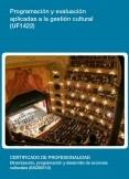 UF1422 - Programación y evaluación aplicadas a la gestión cultural