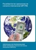 UF1759 - Fiscalidad de las operaciones de comercio internacional