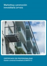 Libro UF1923 - Marketing y promoción inmobiliaria, autor Editorial Elearning