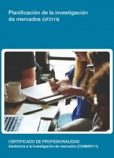 Libro UF2119 - Planificación de la investigación de mercados, autor Editorial Elearning